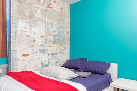 This is a beautiful and spacious Brooklyn loft located half a block from the Morgan L train in Bushwick - the center of all that's new and hip in Brooklyn.