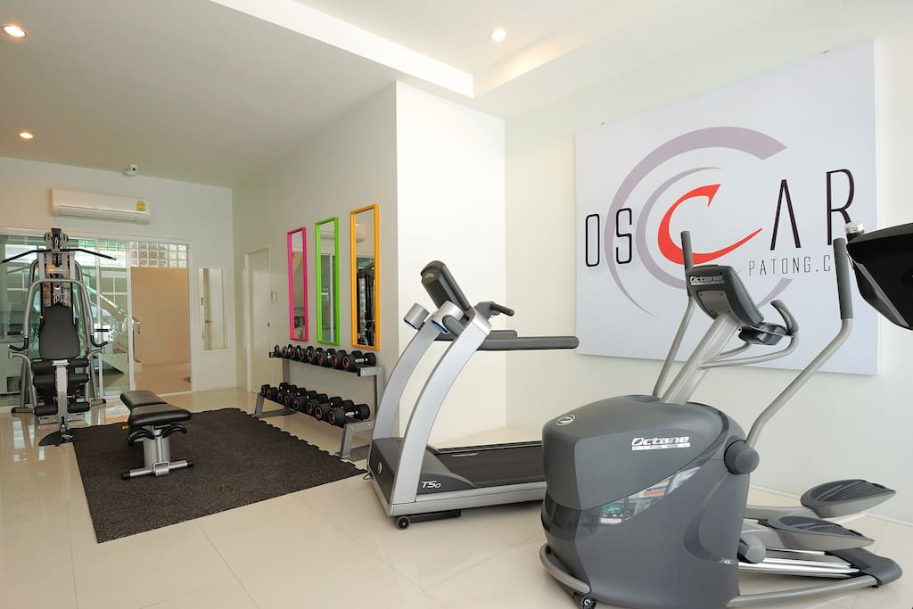 Get in shape with the help of our fitness room