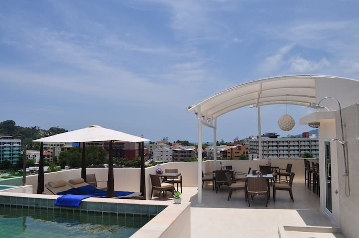 Danish Boutique Hotel - Patong - Bed & Breakfast