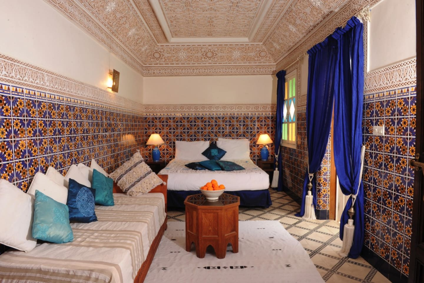 Our beautiful and traditional Amir suite