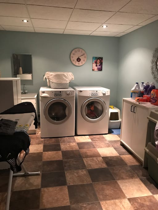 Laundry Room Available for use