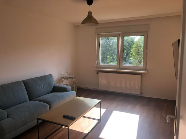Bright apartment in calm neighborhood close to the