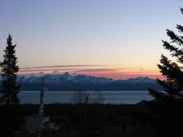Kachemak Bay Eagle View - Homer - Huis