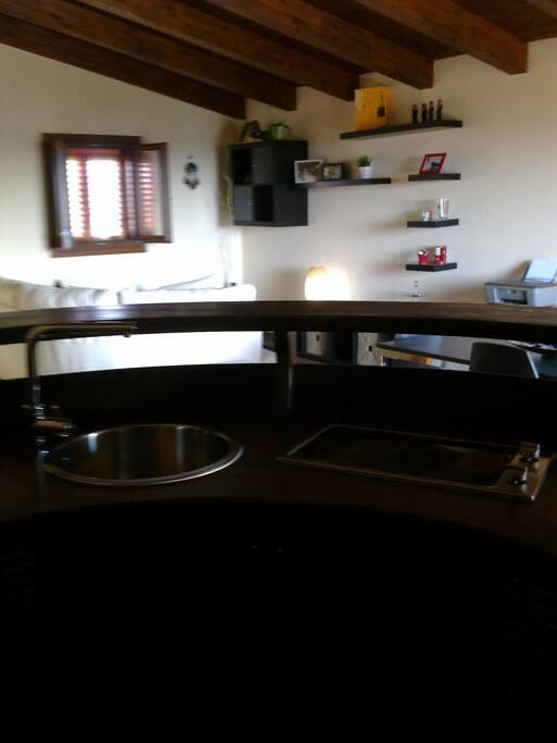 piano bar+cucina