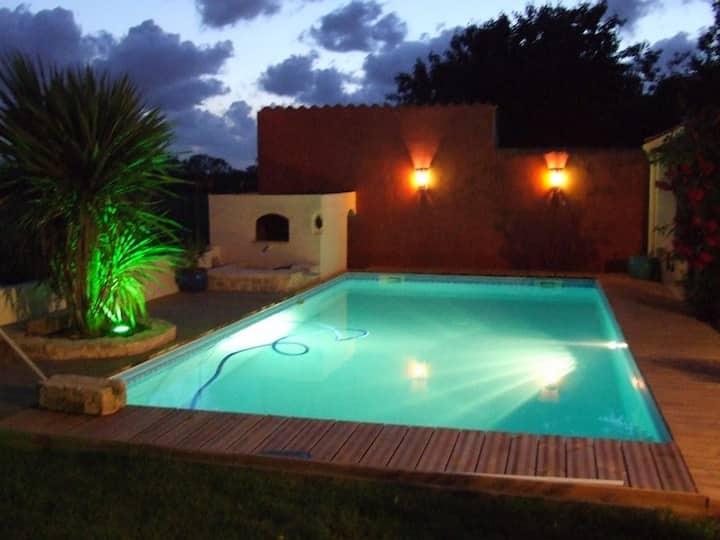 VILLA BAMBOU -8 Pers-piscine-Secteur LA ROCHELLE
