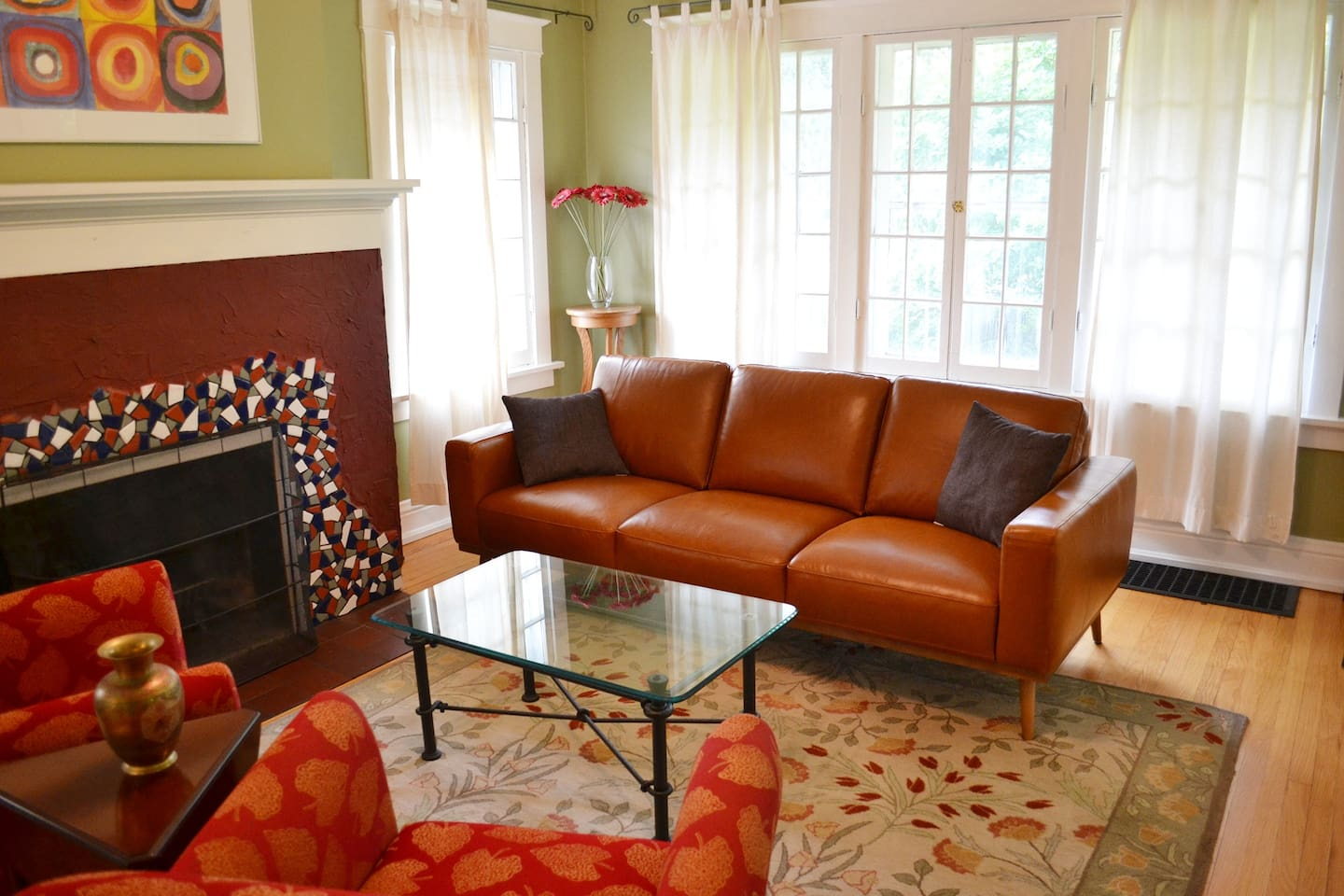 Enjoy the new furniture - we just updated in Aug 2018.