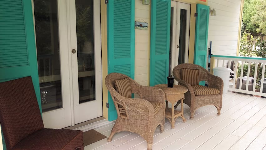 Relax on the porch