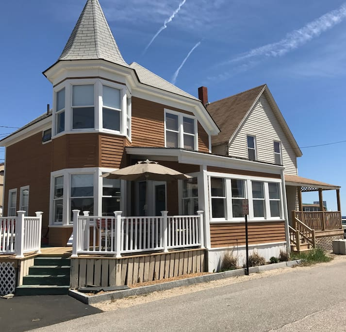 Old Greenwich Beach Cottage: Houses à Louer à Old Orchard Beach