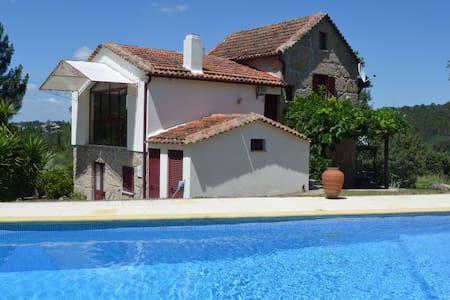 Ruime villa te huur met zwembad  - Covas - Villa