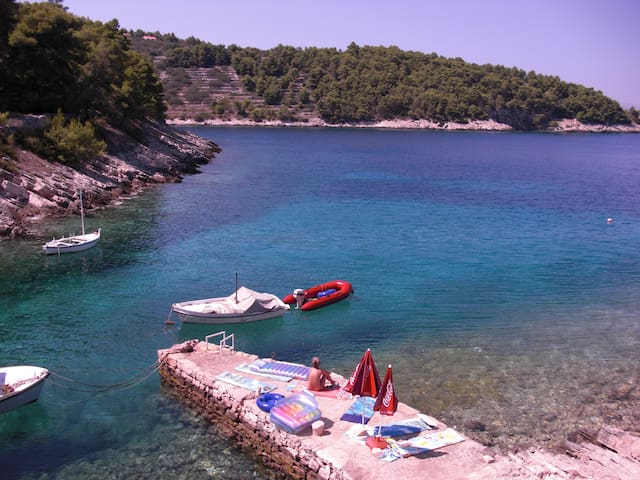 Tranquillity (possibility of car rental) - Vela Luka - Chalet