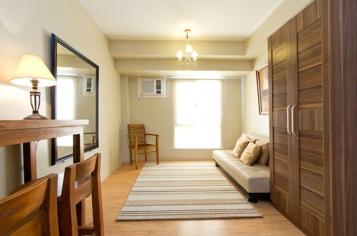 cozy studio unit in Alabang