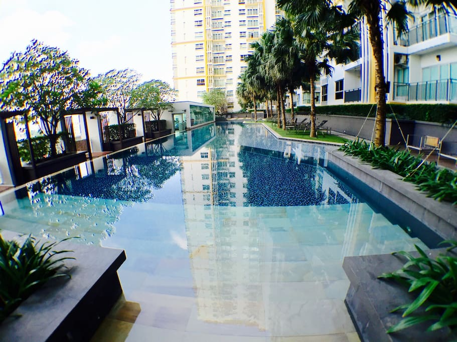 Swimming pool 43 m long and Fitness @7th Floor