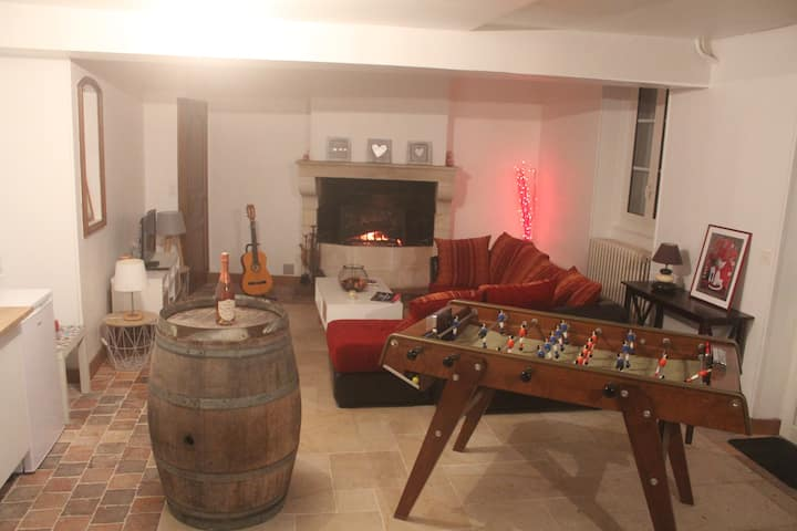 80 m2 house, 2 bedrooms - ideal location in Gien