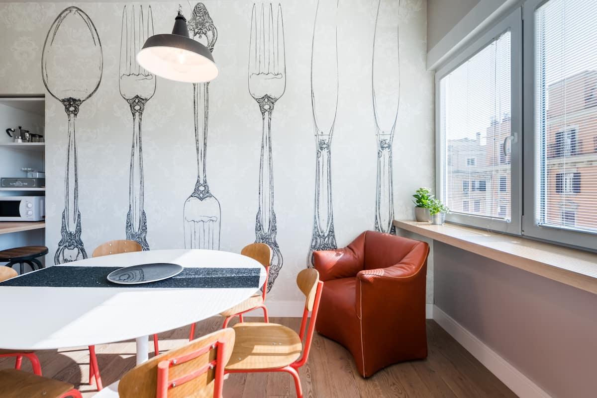 Luminoso e Spazioso Appartamento nel Vivace Quartiere Flaminio