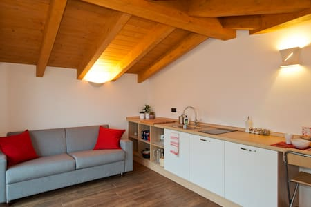 Nice attic near Rho Fiera and Milan - Cerro Maggiore - Apartmen