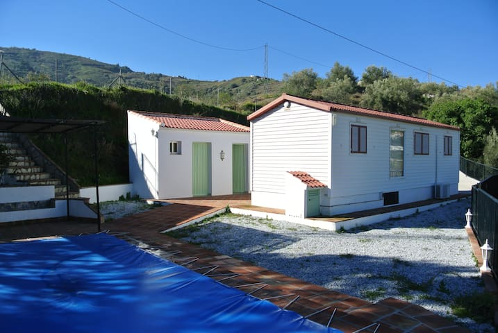 Unique Cabin Private Swimming Pool - Malaga - Cabane