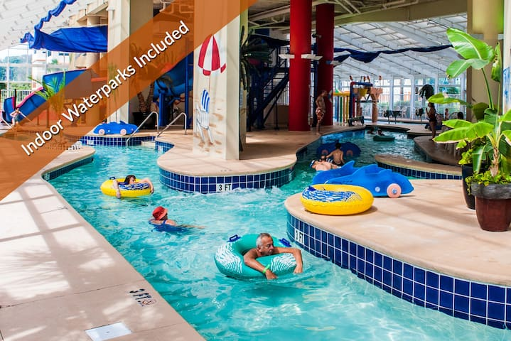 Great Family Beach Escape - Includes Access to 3 On-Site Indoor Water Parks.