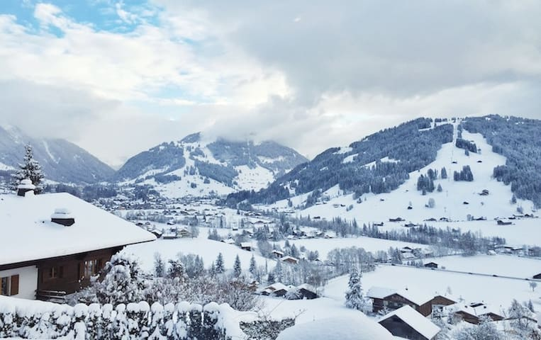 GSTAAD Swiss Chalet - Awesome View! - 薩嫩(Saanen) - 獨棟