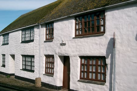 HISTORIC BEAMED COTTAGE NEAR BEACH  - Marazion - 一軒家