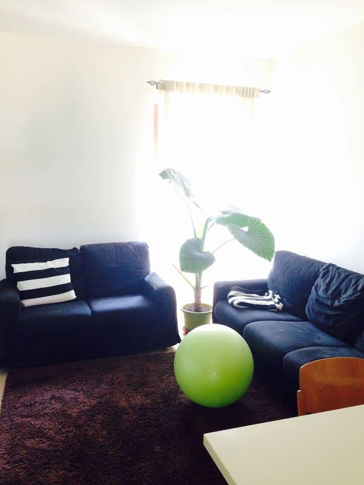 il soggiorno luminoso