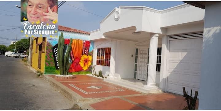 ValleDeAcordeones -Casa Amoblada EncantoVallenato
