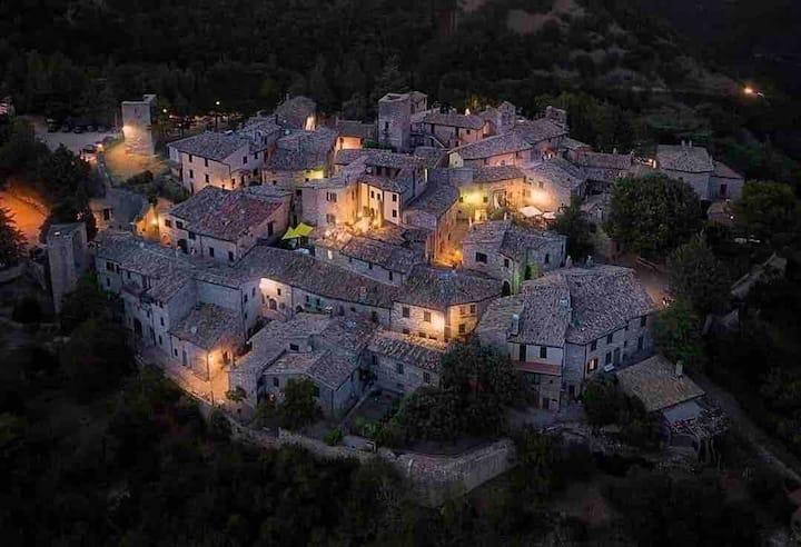 Spello (Collepino's Castle), whole beautiful house