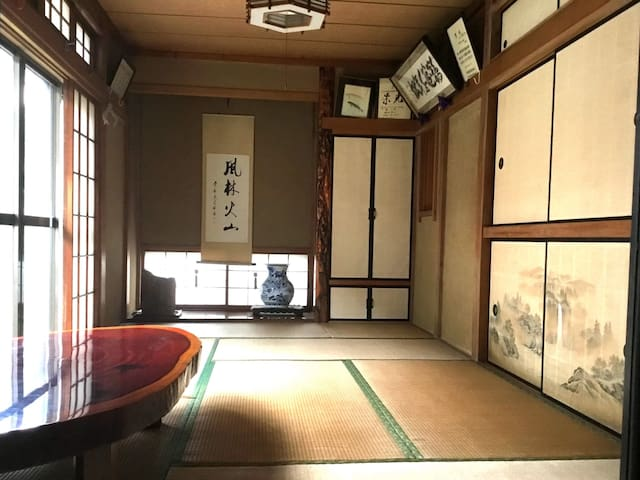 【1F】Japanese garden house/3people can stay