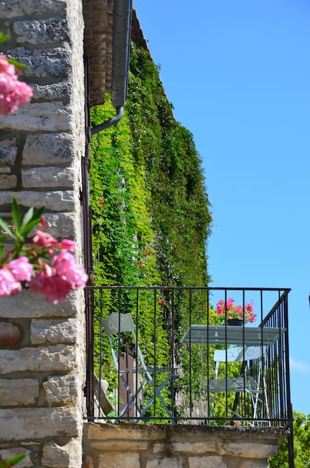 La terrasse du logement
