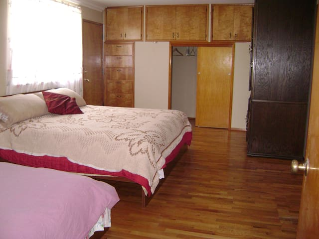 Master bedrooms with King and full
