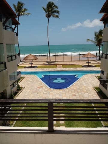 Apartamento Beira Mar Enseada dos Corais (004)