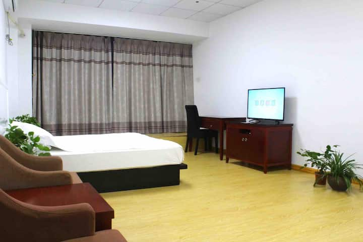 衢州学院旁菁才中学边全新精装公寓大床房 环境优美 交通便利