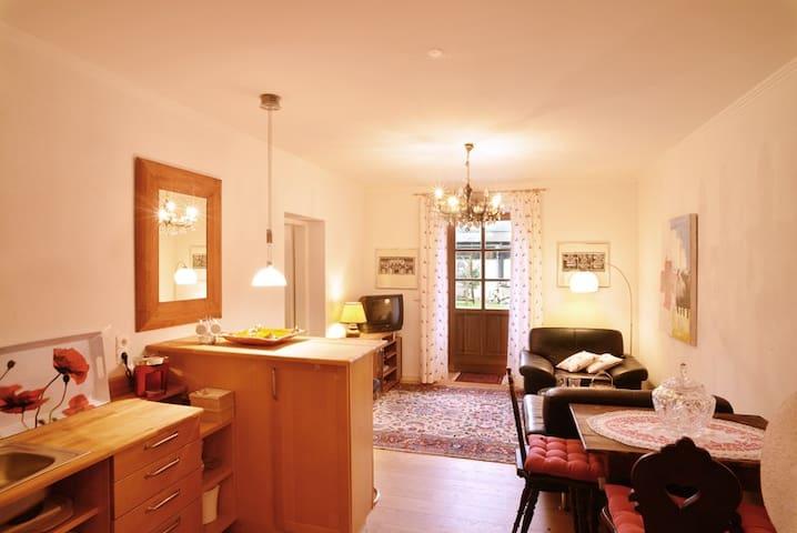 gemütliches Gartenappartment App 2 - Sankt Martin bei Lofer - Apartemen