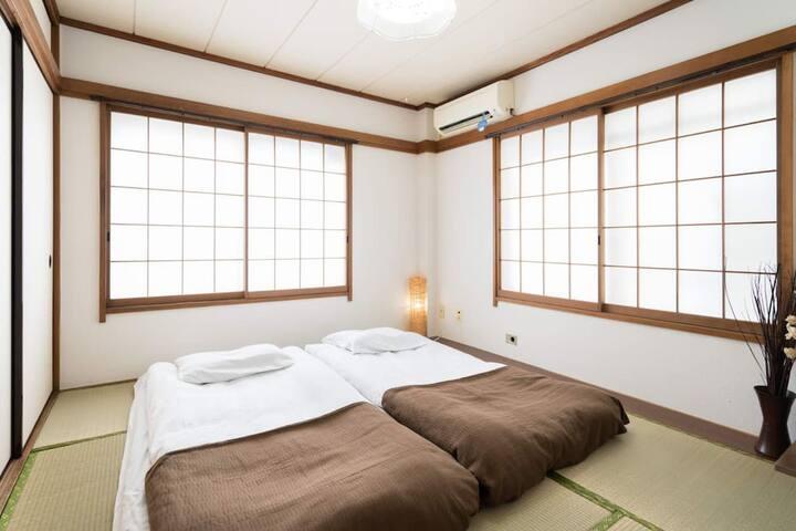 MYSW01|近隅田川|浅草寺步行可达|机场直达|免费WiFi