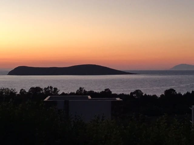 Sea view, garden, luxury 2 bed modern apartment - Bodrum - Apartamento