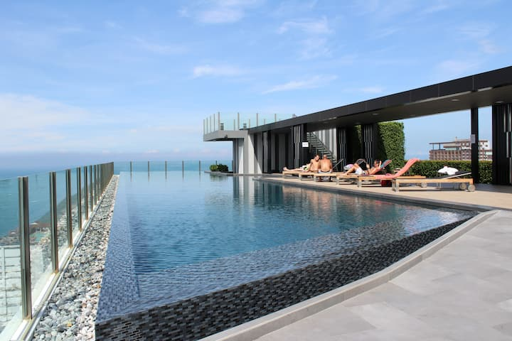 【BASE】Super cost effective infinity pool apartment