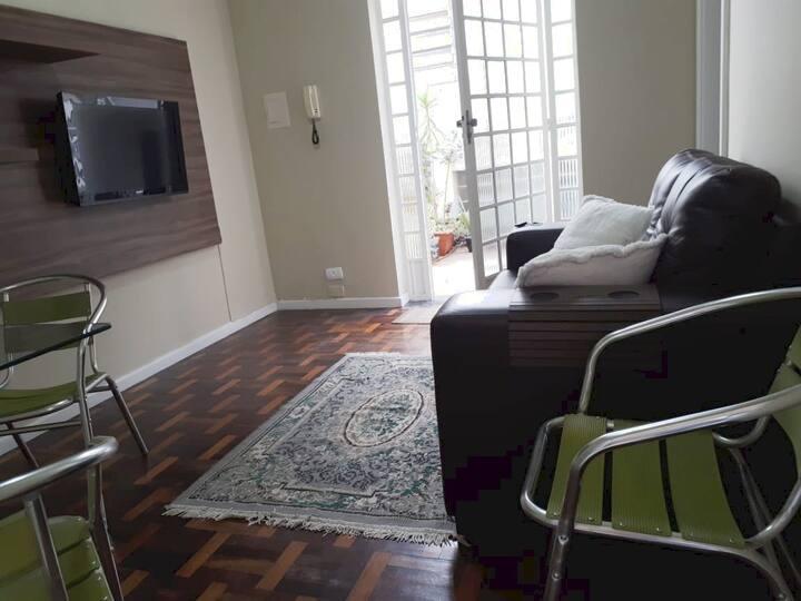 Apartamento UEPG aconchegante - Térreo