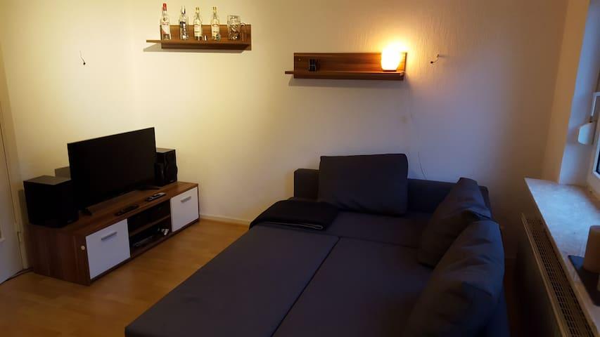 zentrale Unterkunft für 1-2 Personen - Heide - Appartement