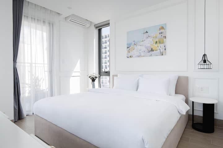New Apartment ✯ Balcony ✯ Jacuzzi ✯ Ocean view