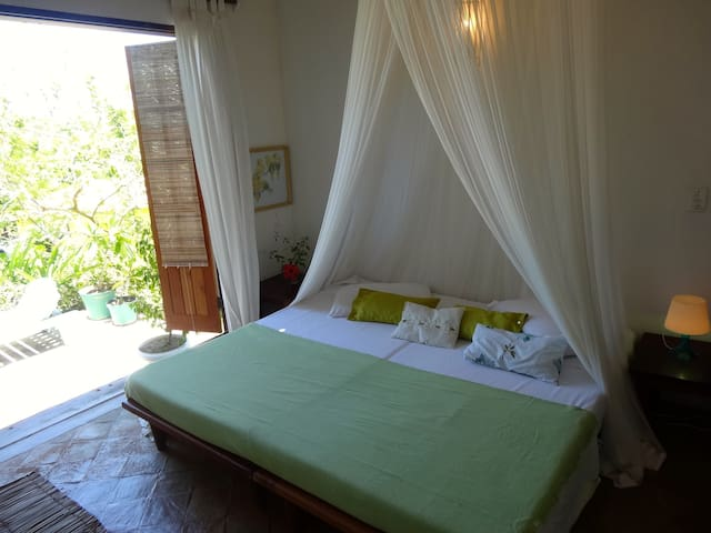 Charming Room in Espelho Blue House
