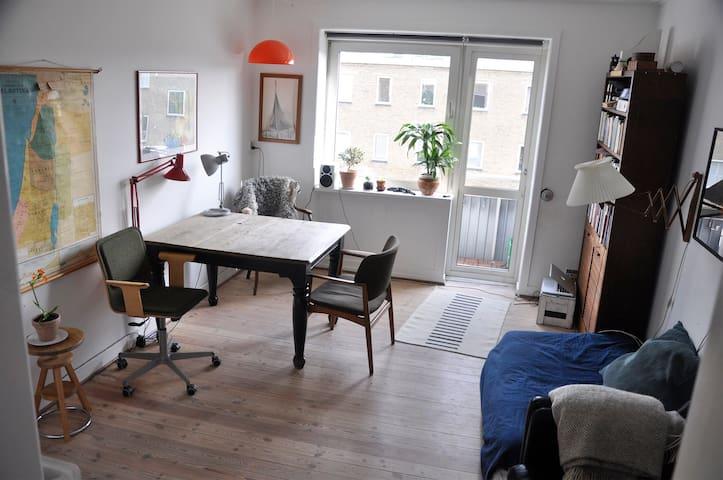 Lys og dejlig lejlighed i Nordvest v. Nørrebro - Kööpenhamina