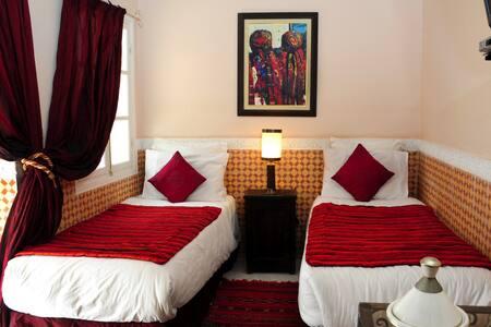 Riad Shaden - Kaiss Twin Room