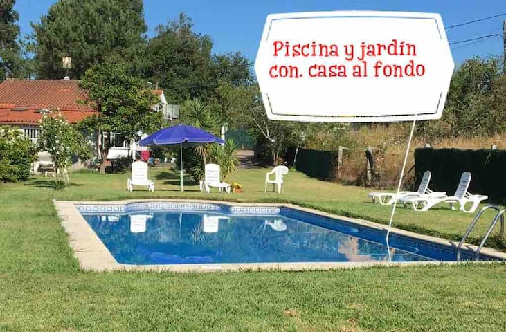 Alquiler chalet con piscina y jardín cerca playa