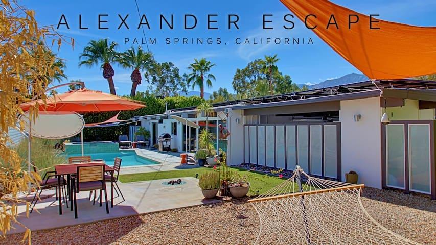 Alexander Escape:  3BR Mid Century Oasis