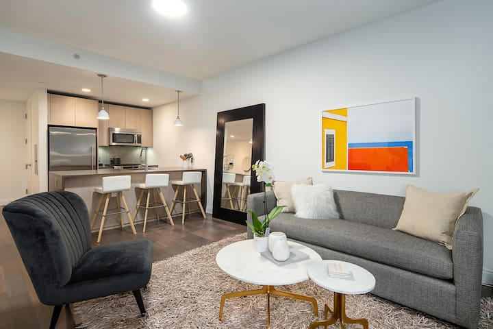 Large 1 Bedroom  in Jersey City, mins to NYC