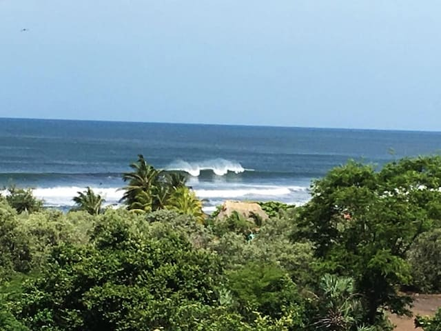 Wake up to N. Bay surf view every morning.