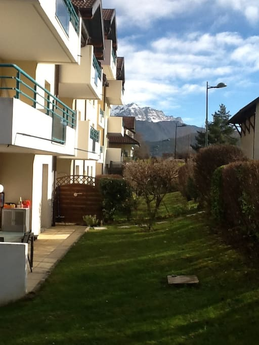 Annecy st jorioz appart 4 6 pers jardin maisons for Annecy maison a louer