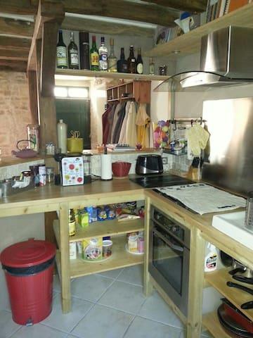 Chambre dans petite maison de ville - Déols - Rumah