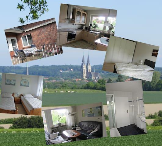 Große gemütliche Ferienwohnung - Billerbeck - Appartement