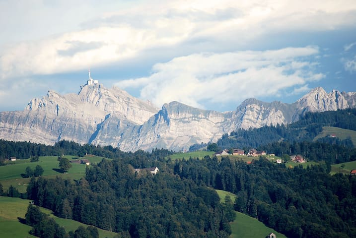 Ferienwohnung im Wander / Skigebiet - Wattwil - Apartment