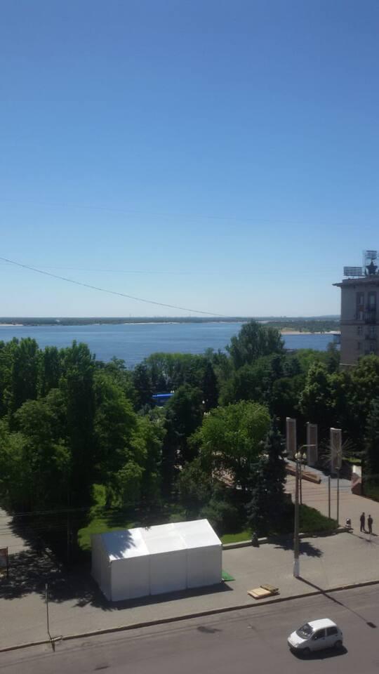 Вид на Волгу с Балкона